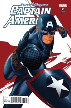 Captain America Steve Rogers Portada alternativa de Steve Epting