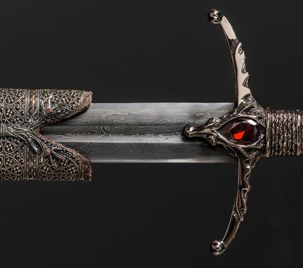 Lamento de Viuda - Espadas de acero valyrio de Juego de Tronos