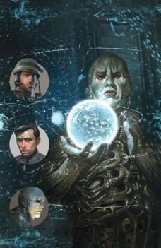 Prometheus Life and Death Portada 30 aniversario de Dave Dorman
