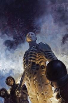 Prometheus Life and Death Portada principal de David Palumbo