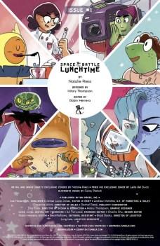Space Battle Lunchtime Página interior (1)