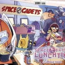Space Battle Lunchtime Portada alternativa de Natalie Riess