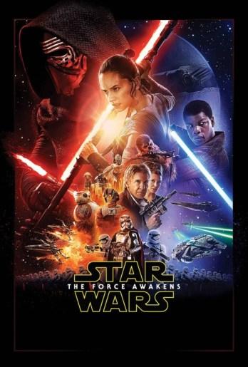 Star Wars El despertar de la Fuerza portada alternativa de la película