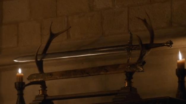 Veneno de Corazón - Espada de acero valyrio de Juego de Tronos