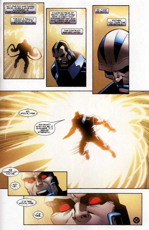 11 historias de cómic jamás resueltas trato Apocalipsis Celestiales 01