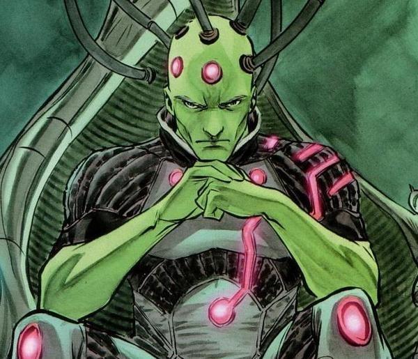 12 Villanos de comic que deberían aparecer en la gran pantalla principal Brainiac