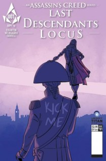 Assassin's Creed Last Descendants Locus Portada 3