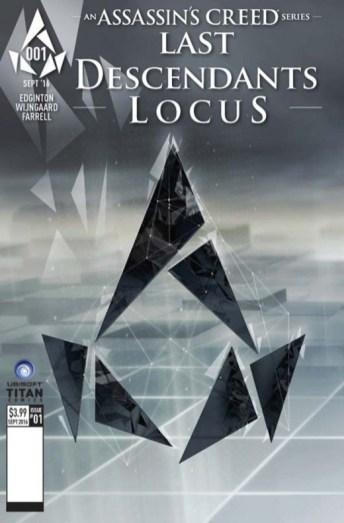 Assassin's Creed Last Descendants Locus Portada 5