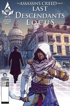 Assassin's Creed Last Descendants Locus Portada