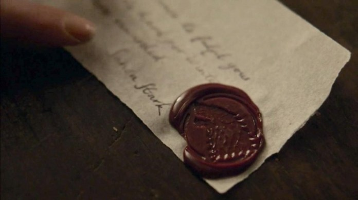 Carta Sansa Juego de Tronos