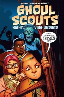 Ghoul Scouts Portada alternativa de Mike Norton
