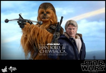 Hot Toys Han Solo Chewbacca (5)