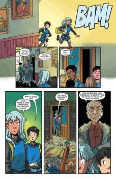 Lumberjanes Gotham Academy Página interior (5)