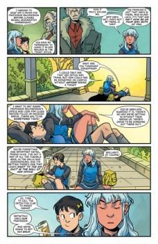 Lumberjanes Gotham Academy Página interior (6)