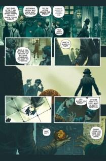 Mycroft Holmes The Apocalypse Handbook Página interior (1)