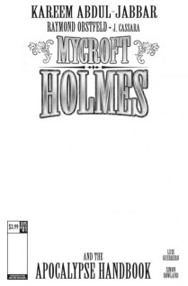 Mycroft Holmes The Apocalypse Handbook Portada alternativa en blanco