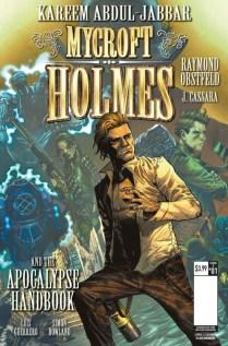 Mycroft Holmes The Apocalypse Handbook Portada principal de Joshua Cassara