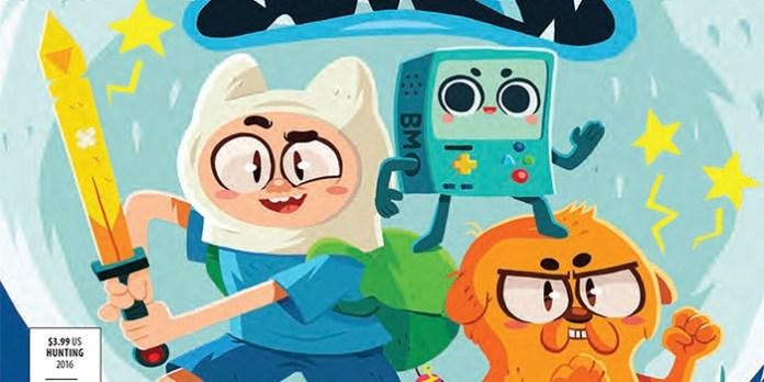 Adventure Time Comics Destacada