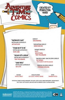 Adventure Time Comics Página interior (1)