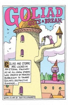 Adventure Time Comics Página interior (6)