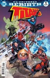 Titans Portada principal de Brett Booth y Norm Rapmund