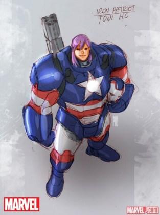 U.S.Avengers 1 Iron Patriot
