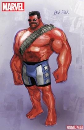U.S.Avengers 1 Red Hulk