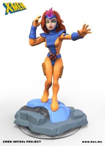 X-Men Disney Infinity figuras fanmade 05