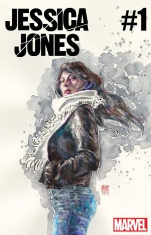 jessica jones 001 por david mack - portada