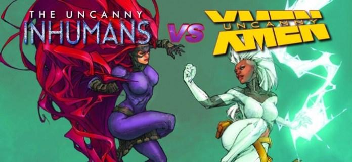 Inhumans Vs X Men