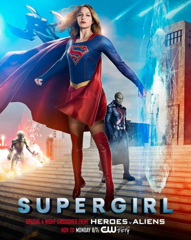 Supergirl Invasion!