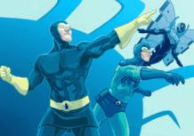 Blue Beetle Comic Watchmen