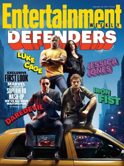 The Defenders - Entertainment Weekly