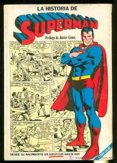 Javier Coma - prólogo en La Historia de Superman