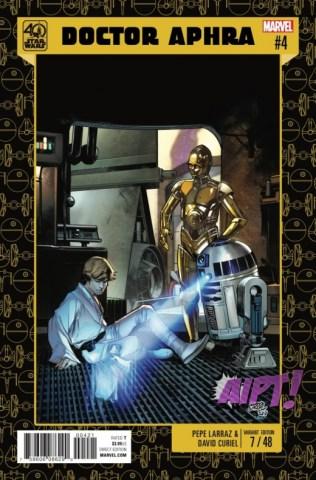 Star Wars Doctor Aphra 4 portada alternativa