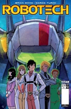 Robotech 1 Titan Comics