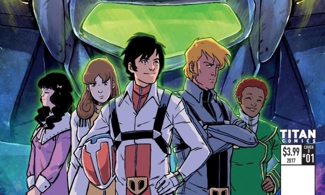 Robotech Titan Comics