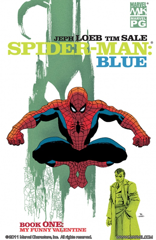 Spiderman Azul