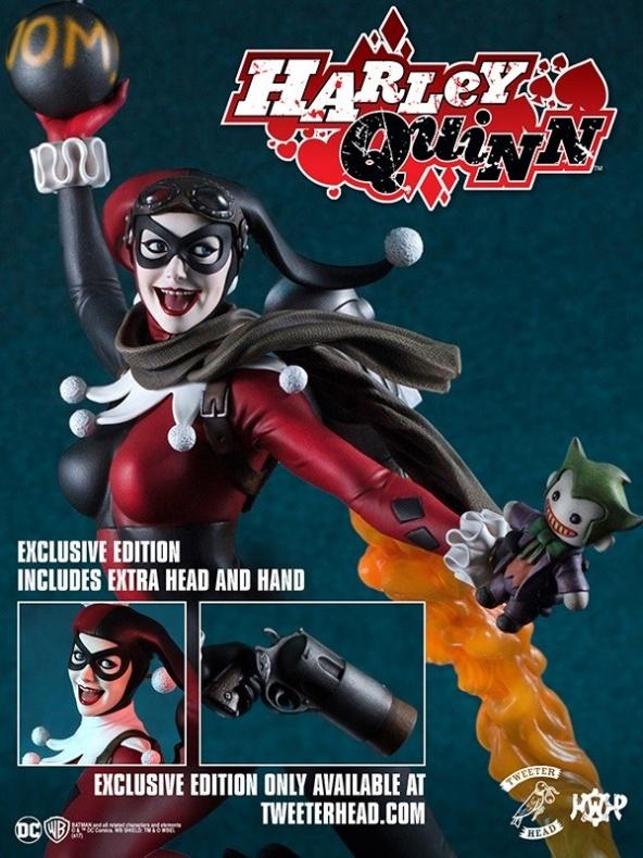 Tweeterhead presenta una nueva figura de Harley Quinn 012