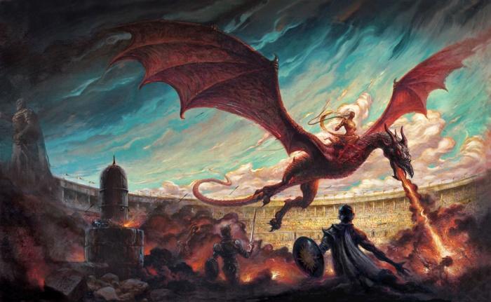 Danza de dragones - Enrique Corominas