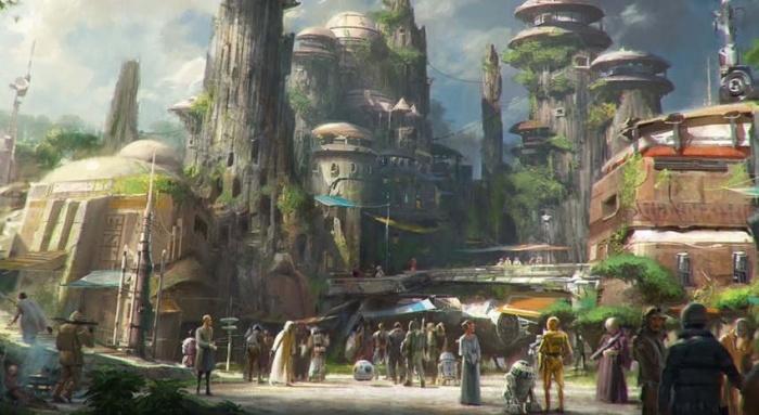 Desvelados más detalles y diseños del futuro parque y resort ambientado en Star Wars 002