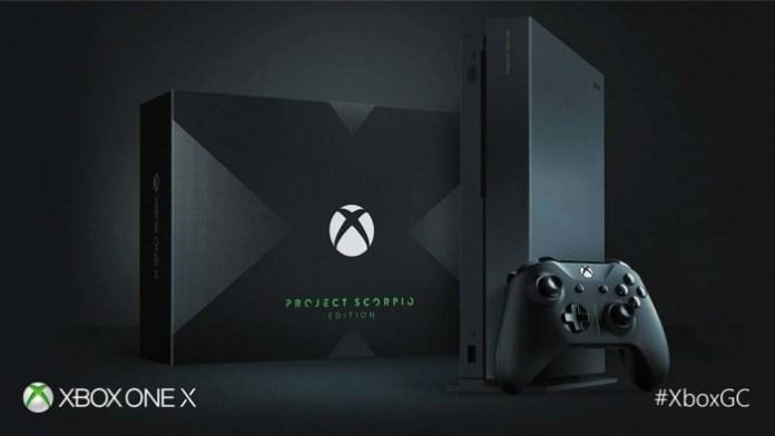 Fecha de lanzamiento y precio de la Xbox One X (1)