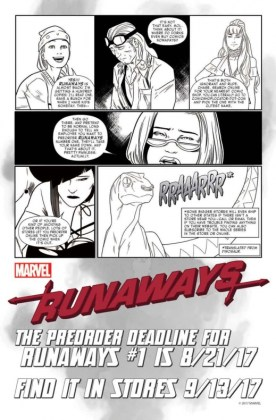 RUNAWAYS Guide to Preordering