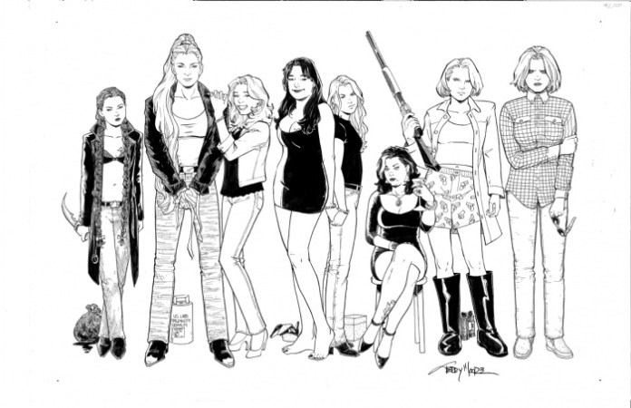 Terry Moore - Strangers in Paradise