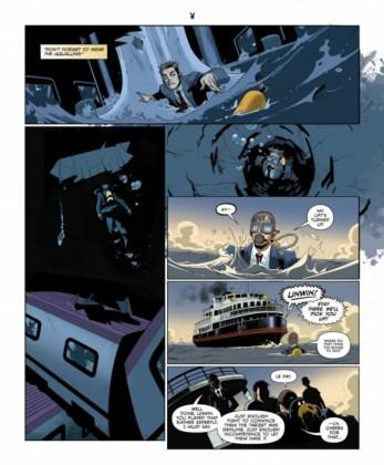 El cómic Kingsman The Big Exit ya ha sido publicado en la revista Playboy 3 copia