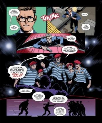 El cómic Kingsman The Big Exit ya ha sido publicado en la revista Playboy 7