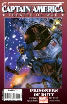 Captain America Theater of War Prisoners of Duty - Agustín Padilla - VGCómic
