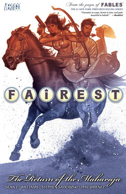 Fairest_The_Return_of_the_Maharaja_TPB - Greg Lockard - VGCómic