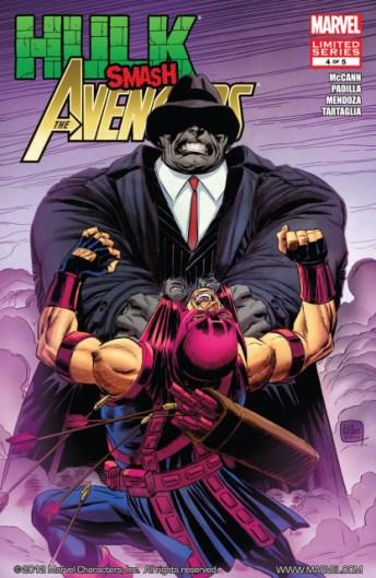 Hulk smash Avengers - Agustín Padilla - VGCómic