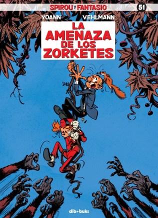 Portada Spirou 51 La amenaza de los Zorketes